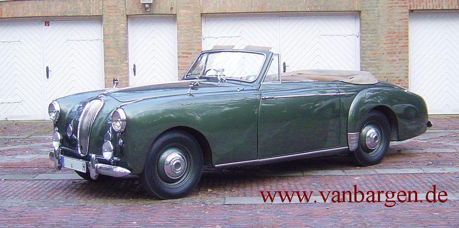 Lagonda 2,6l Tickford Cabriolet